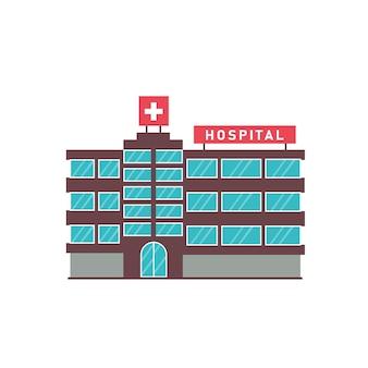 Esterno dell'ospedale di un edificio moderno
