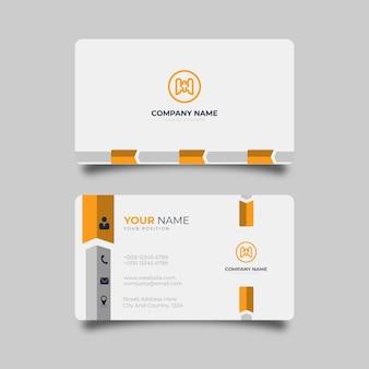 Design moderno per biglietti da visita professionale elegante