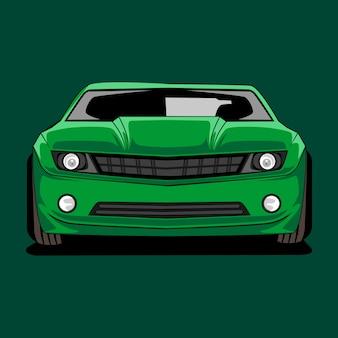 Illustrazione di auto moderne