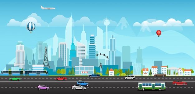 Vita di città moderna