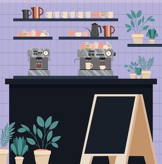 Caffetteria moderna