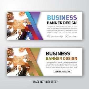 Design moderno sfondo aziendale banner