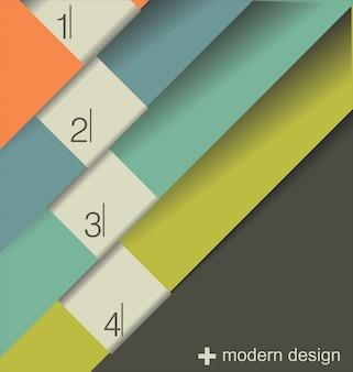 Modello di design moderno