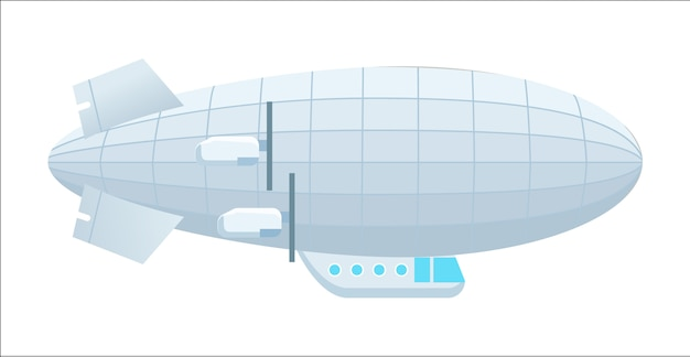 Icona isolata dirigibile moderno