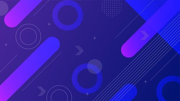 Design moderno sfondo dinamico layout vibrante