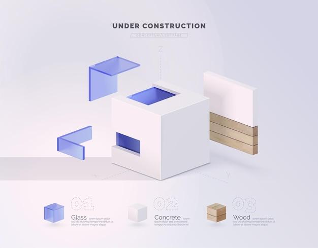 Materiali da costruzione ecologici moderni