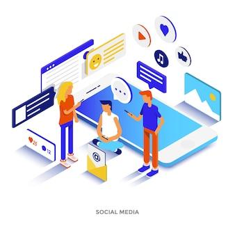 Illustrazione isometrica di design piatto moderno della piattaforma blockchain. può essere utilizzato per il sito web e il sito web mobile o la pagina di destinazione. facile da modificare e personalizzare. illustrazione vettoriale