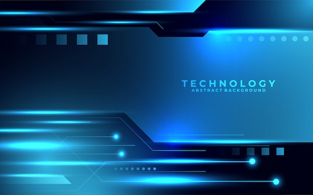 Sfondo della tecnologia digitale del futuro moderno