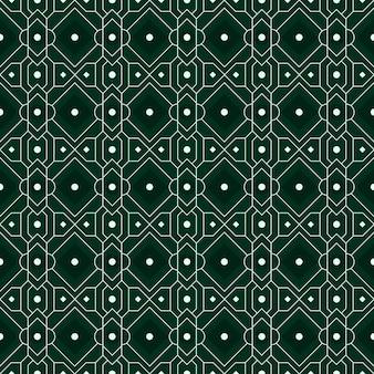 Fondo senza cuciture geometrico moderno. carta da parati classica batik.