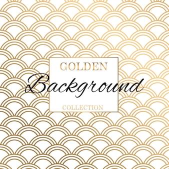 Fondo moderno di struttura del modello dell'oro