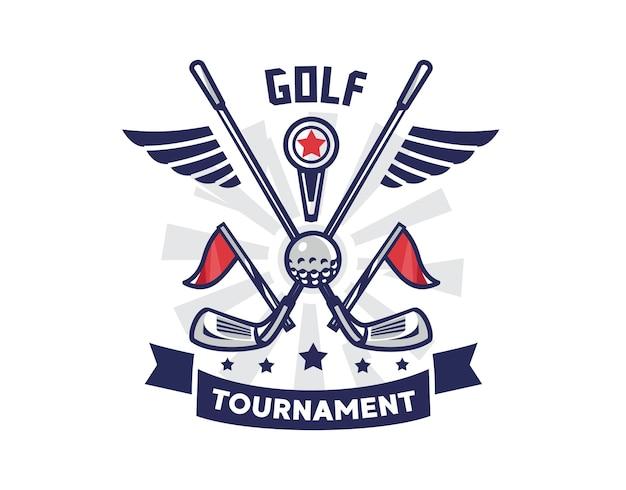 Logo del golf moderno