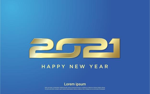 Sfondo moderno felice anno nuovo