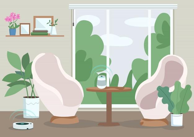 Illustrazione domestica moderna
