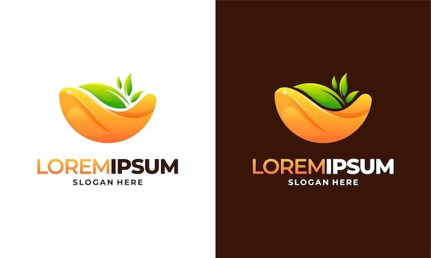 Vettore moderno di progettazione del modello di logo del favo di miele, emblema, concetto di progetto del miele, simbolo creativo,