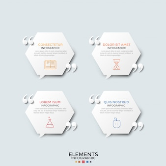Modello moderno di infografica