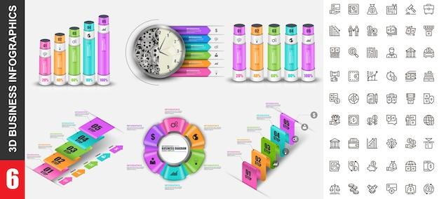 Modello di infografica moderna
