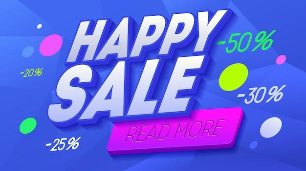 Modello di banner di vendita sito web di arte moderna linea.