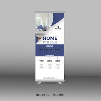Nuovo moderno banner roll up standee