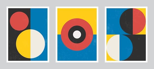 Arte moderna del manifesto. arte astratta della parete. arte di decorazione d'interni digitale con struttura del grunge.