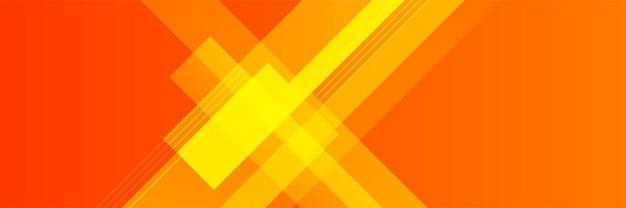 Sfondo moderno rosso arancione banner