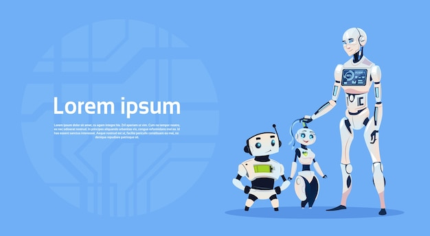Modern robot group