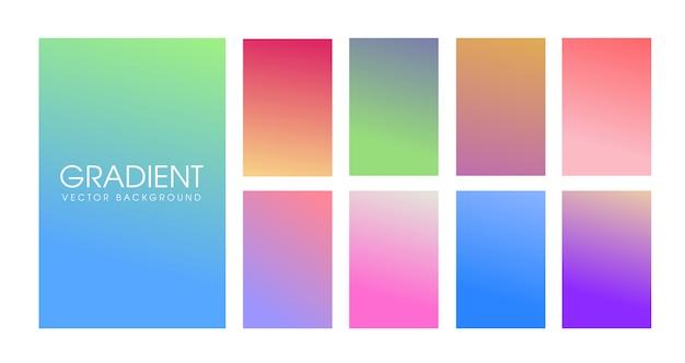Design moderno dello schermo per app mobile
