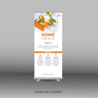 Nuovo modello standee banner roll up moderno stand