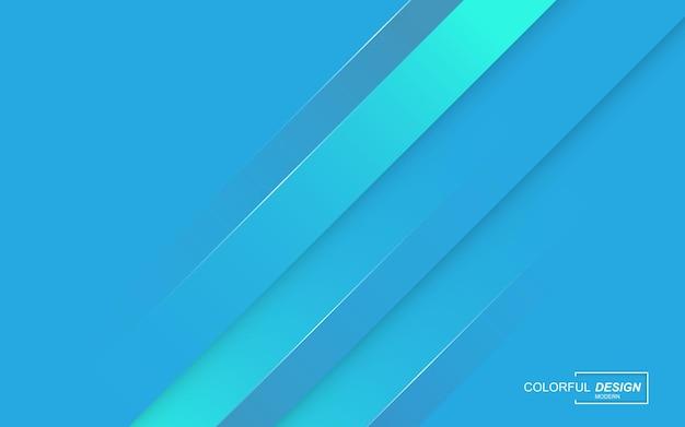 Sfondo di colore blu elegante moderno