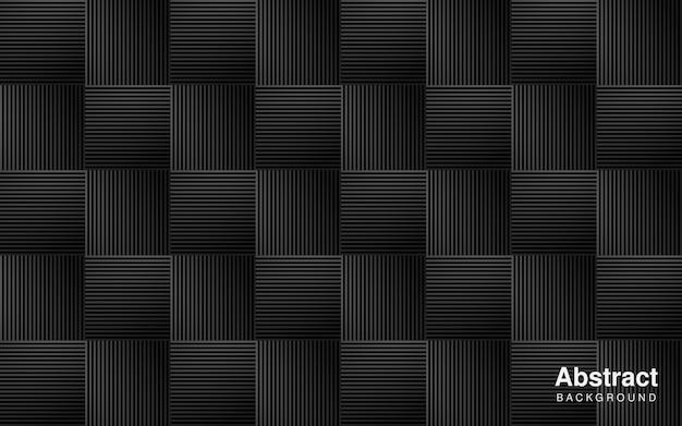 Linee a strisce ripetute geometriche eleganti moderne piazze sfondo