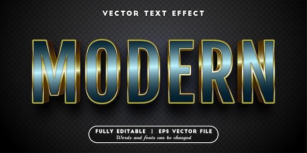 Effetto di testo moderno, stile di testo modificabile