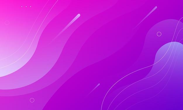 Moderno vivace sfondo colorato rosa brillante e viola