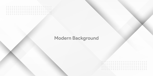 Fondo astratto bianco moderno