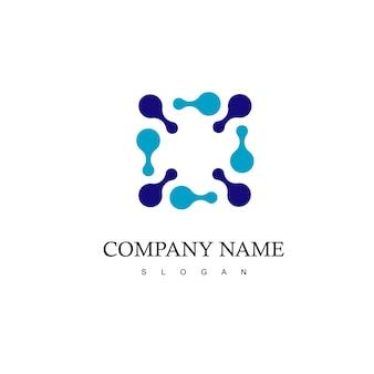 Logo della tecnologia molecolare