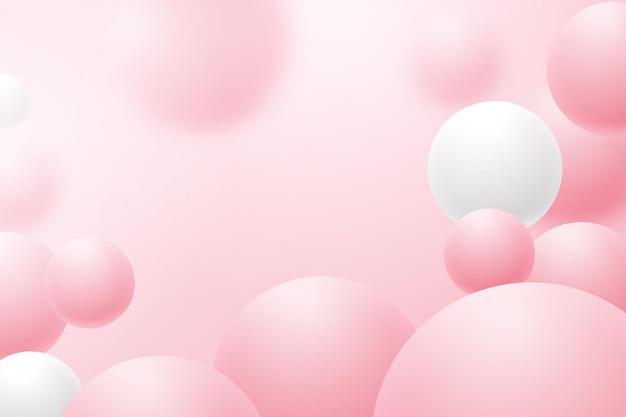 Molecole sfere astratte. illustrazione vettoriale