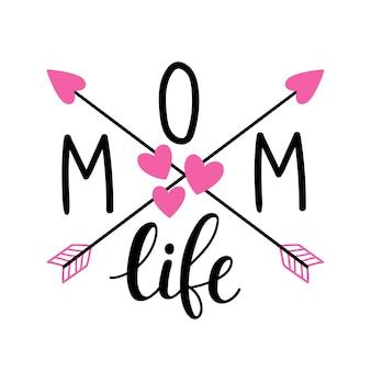 Citazioni ispiratrici per la vita della mamma happy mothers day lettering