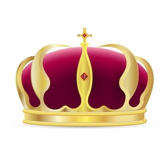 Icona corona monarca