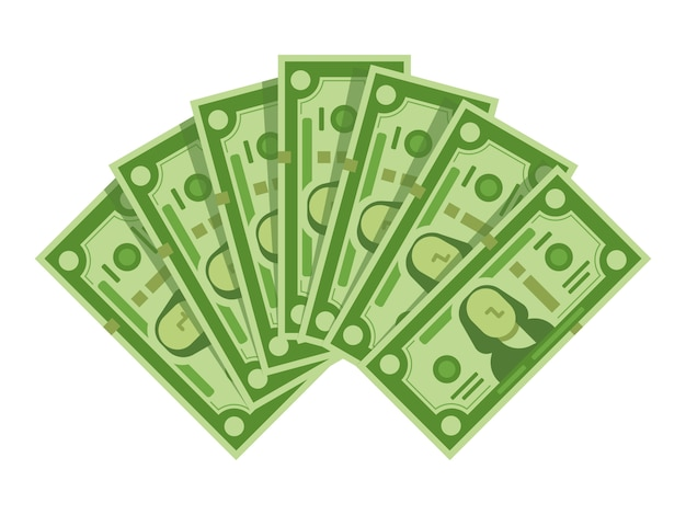 Fan delle banconote dei soldi