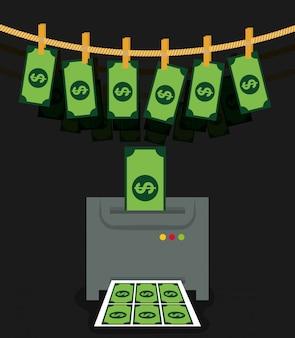 Frodi di denaro e progettazione di hacking