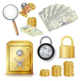 Concetto di denaro sicuro