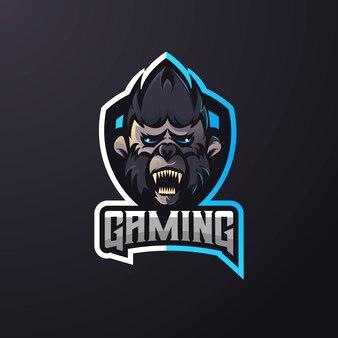 Monkey athletic club logo esport team
