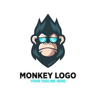 Monkey cool logo design