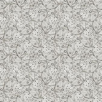 Modello monocromatico. vector sfondo. illustrazione per la carta da imballaggio, disegno di imballaggio