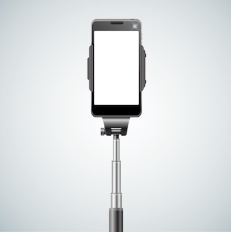 Frontale per selfie monopiede per autoritratto.