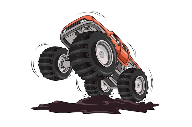 Brivido di monster truck