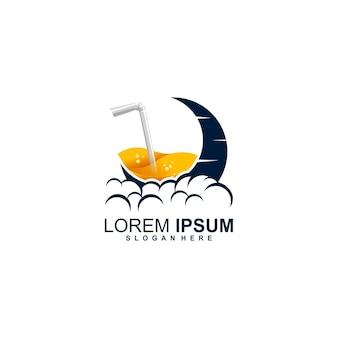 Logo del succo di luna