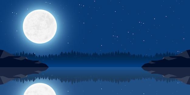 Luna natura paesaggio