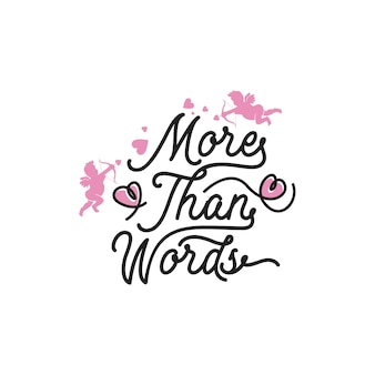 Più che parole scritte citazioni tipografiche