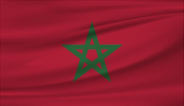 Bandiera nazionale del marocco