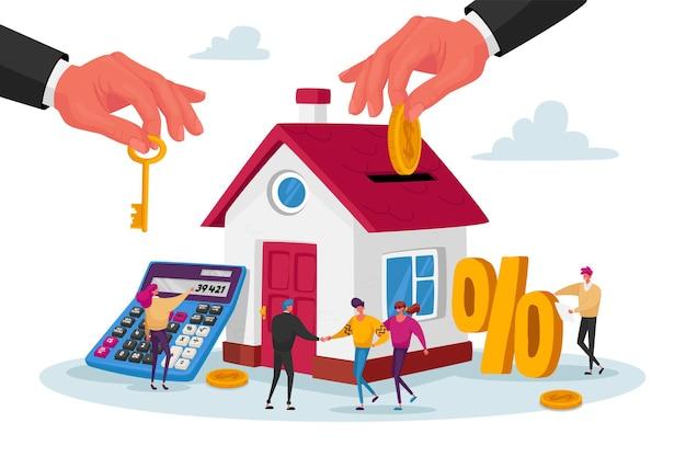 Mutuo e concetto di acquisto di casa