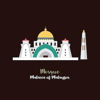 Moschea icon vector.